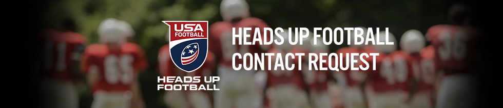 Heads Up Football Contact Header